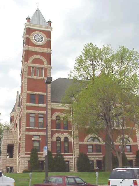 The Green County Courthouse in Monroe, WI